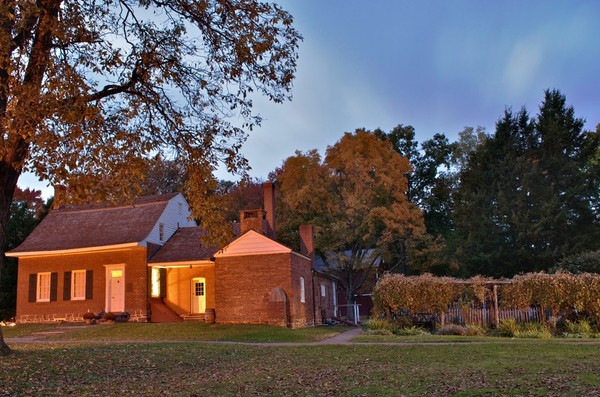 Blauvelt House in the Evening